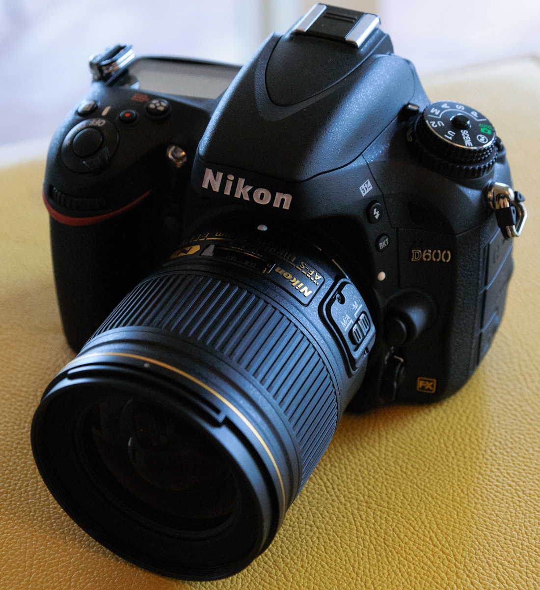 Nikon D600 with AF-S Nikkor 28mm f/1.8G