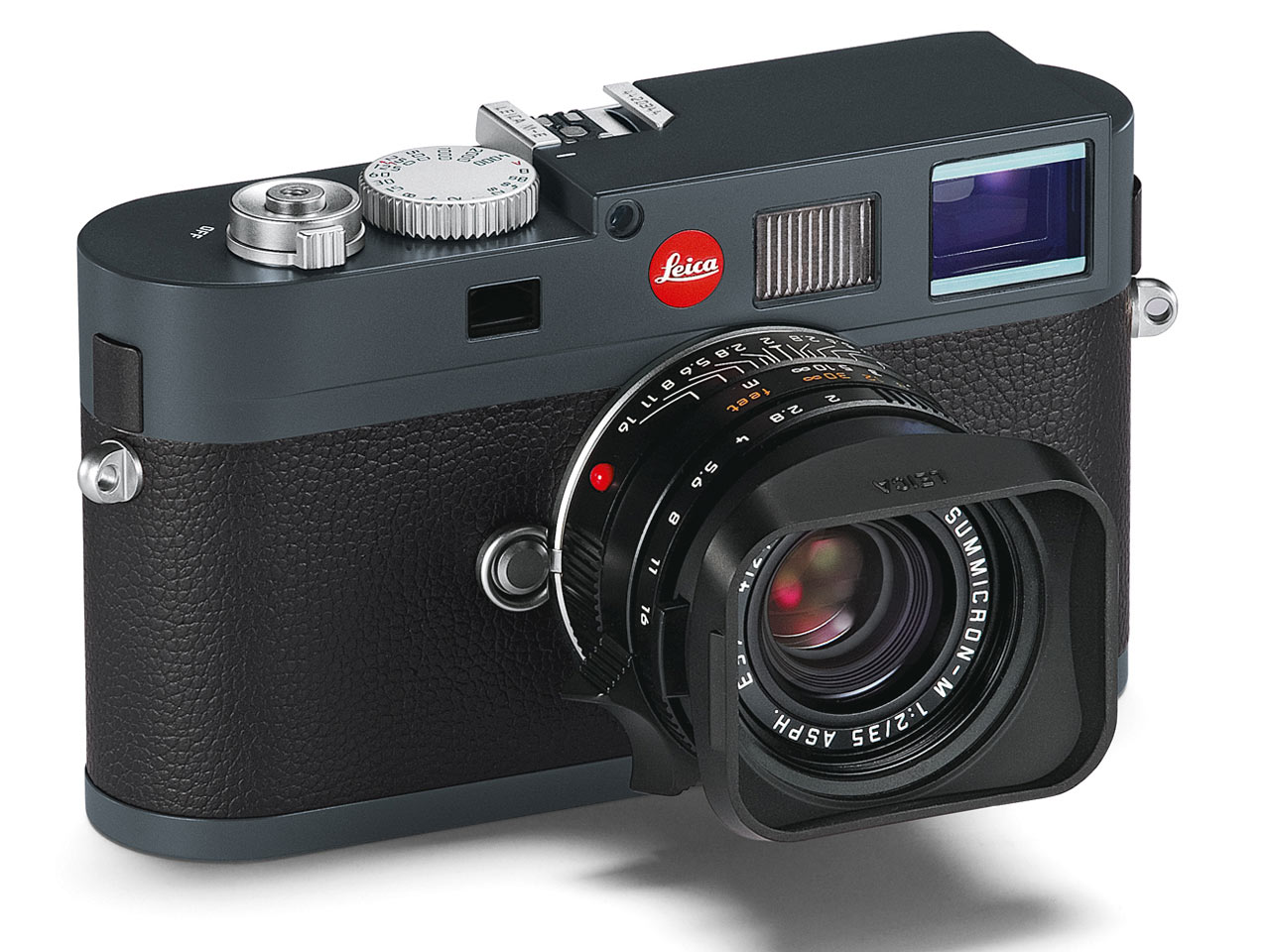The Leica M-E, or the Leica M9 without the frame selector lever and USB port :)