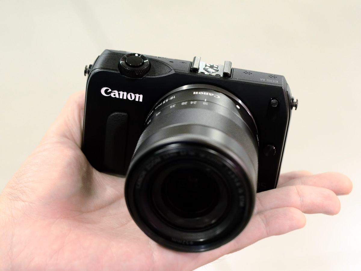 Canon EOS M with EF-M 18-55mm f/3.5-5.6 STM