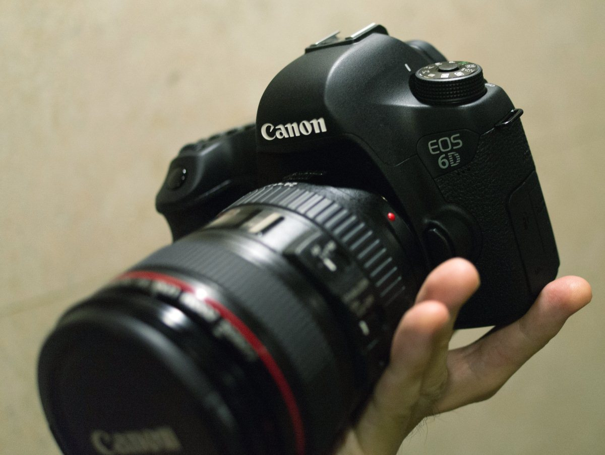 Canon EOS 6D with EF 24-105mm f/4L IS USM
