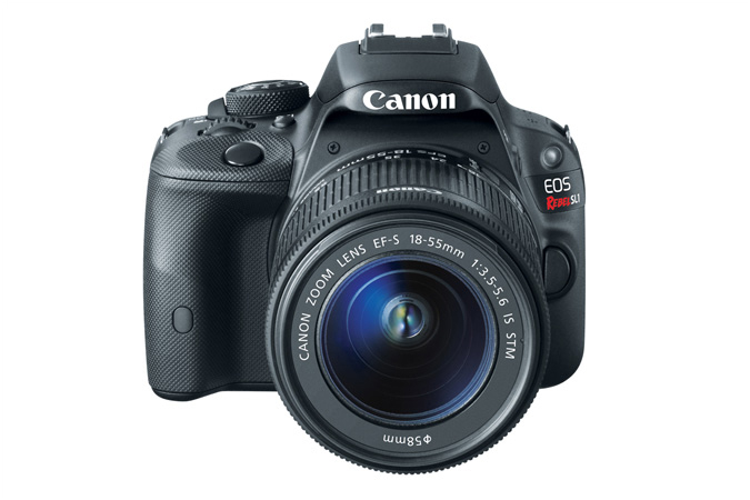 Canon EOS 100D/Rebel SL1 with EF-S 18-55mm f/3.5-5.6 IS STM lens