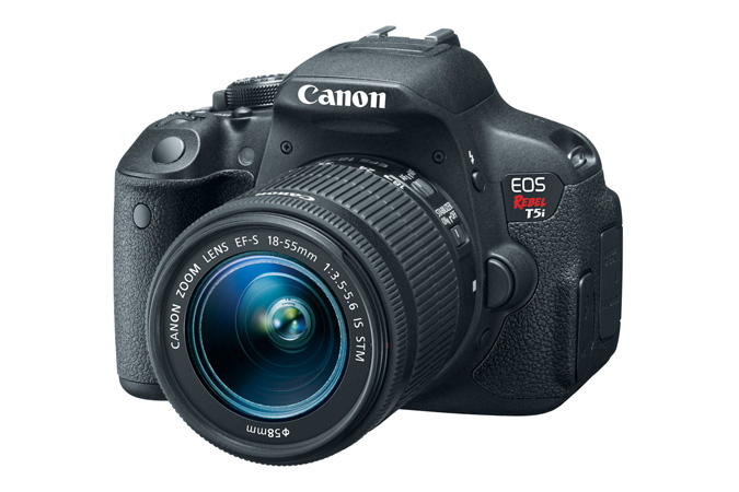 Canon Rebel T5i/EOS 700D with 18-55mm f/3.5-5.6 STM lens