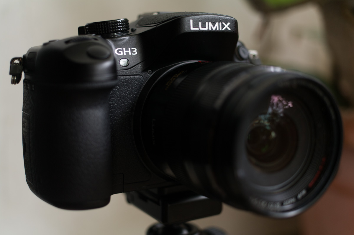 Panasonic GH3 with 12-35mm f/2.8 lens