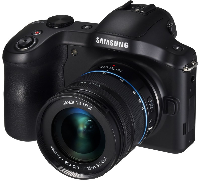 Galaxy NX with 18-55mm lens