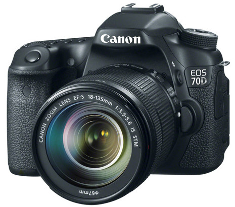 Canon EOS 70D with EF-S 18-135mm f/3.5-5.6 STM lens