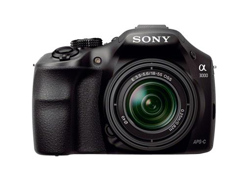 Sony A3000 with 18-55mm lens