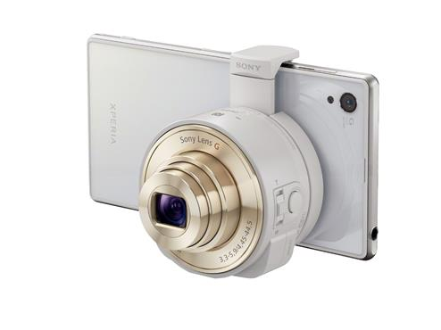 Sony QX10 on a Xperia Z