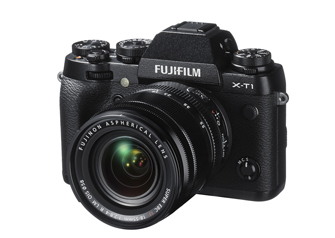 The Fujifilm X-T1 features a retro design reminiscent of the small metal film SLRs of the past.