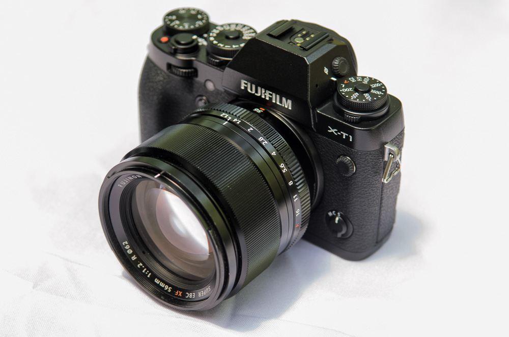 Fujifilm X-T1 with XF 56mm f/1.2