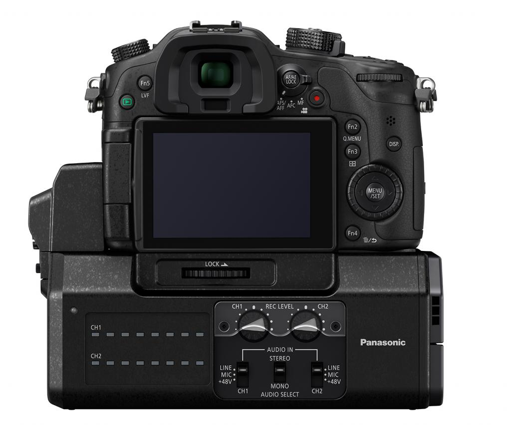 Panasonic GH4 with DMW-YAGH Module