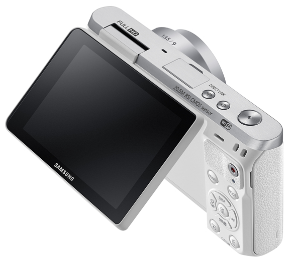 Samsung NX mini rear view