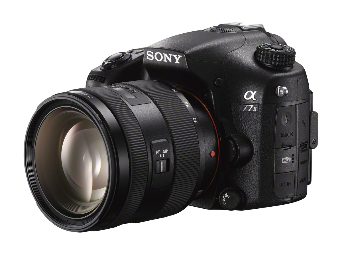 Sony A77 II with DT 16-50mm f/2.8 Lens