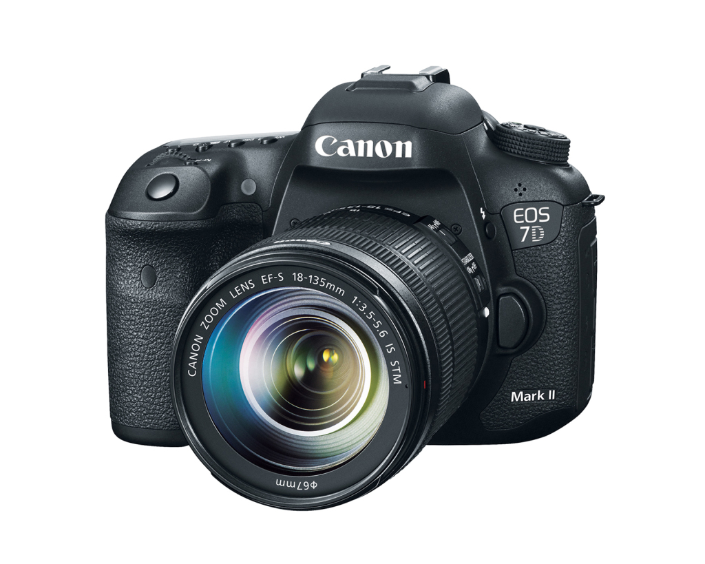 Canon EOS 7D Mark II with Canon EF-S 18-135mm f/3.5-5.6 IS STM Lens