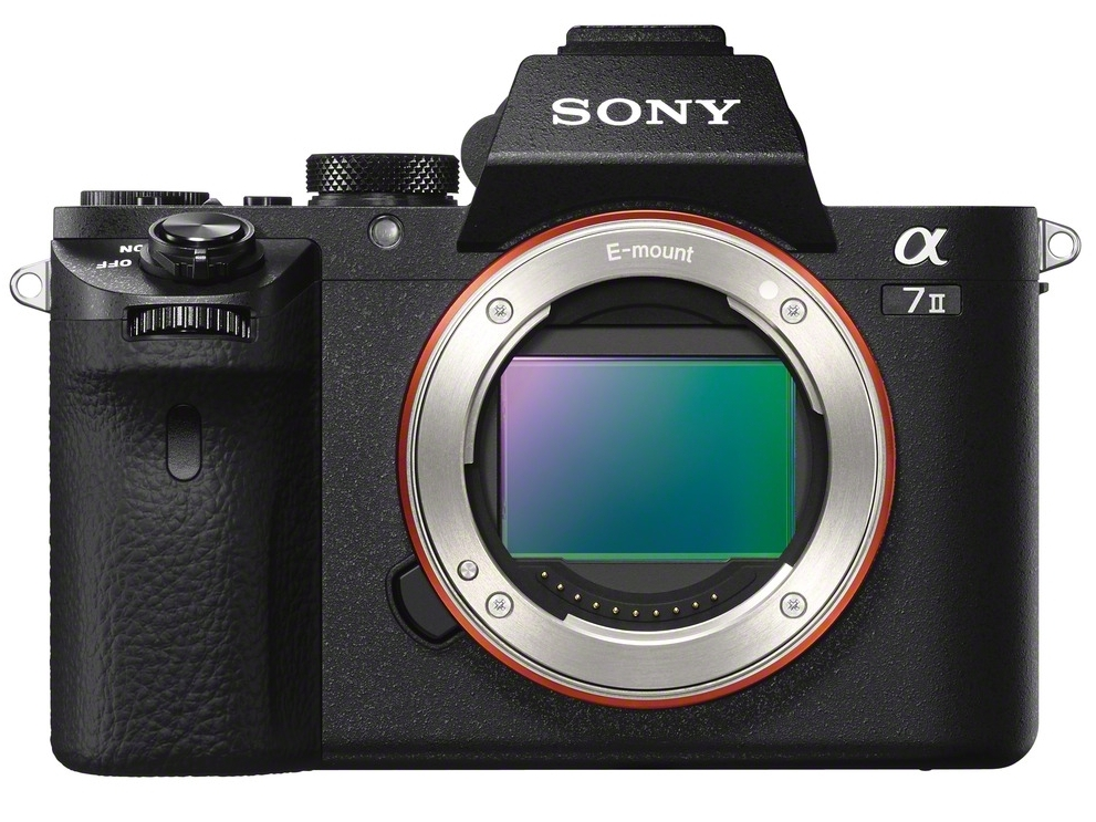 Sony A7II Front