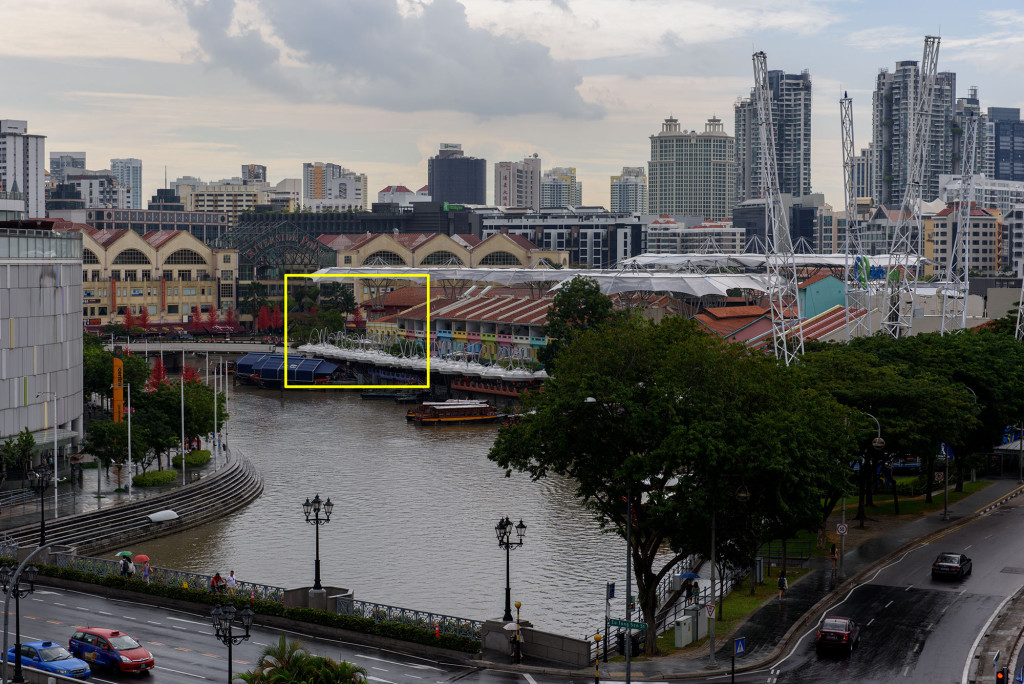 A short of Clarke Quay from the D810 with the AF-S 24-70mm f/2.8G ED-IF