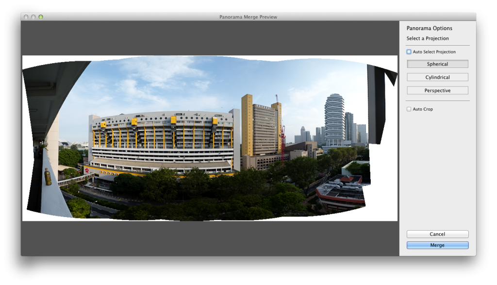 Lightroom CC / Lightroom 6 Panoramic Merge