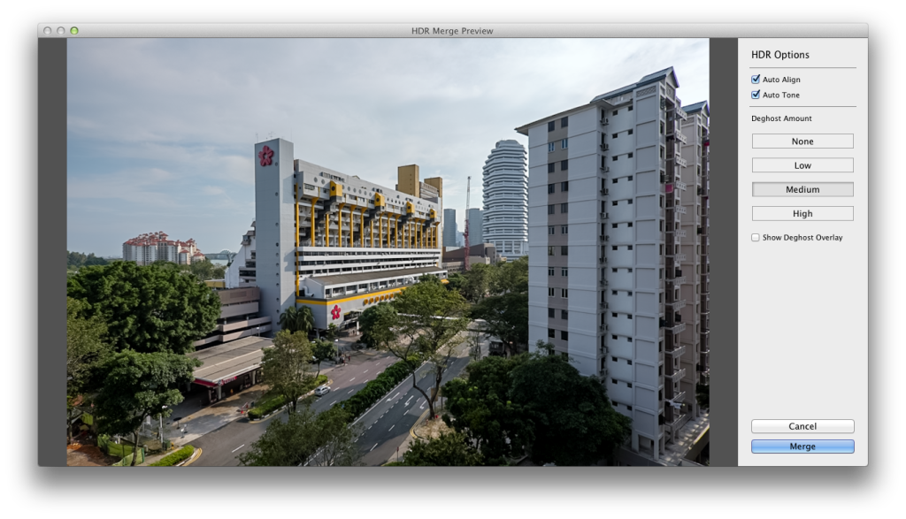 Lightroom CC / Lightroom 6 HDR Merge