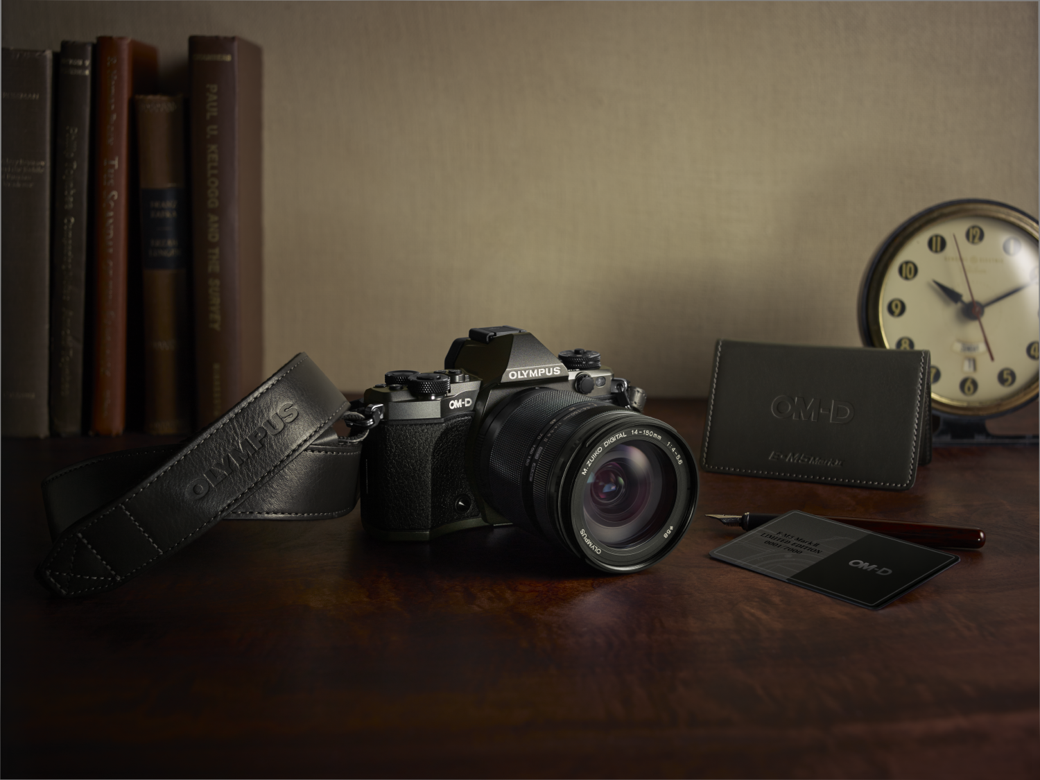 Om D Olympus E M5 Mark Ii Kit Ed 12 40mm F 28 Pro Mk2 Limited Edition Leather Strap Card