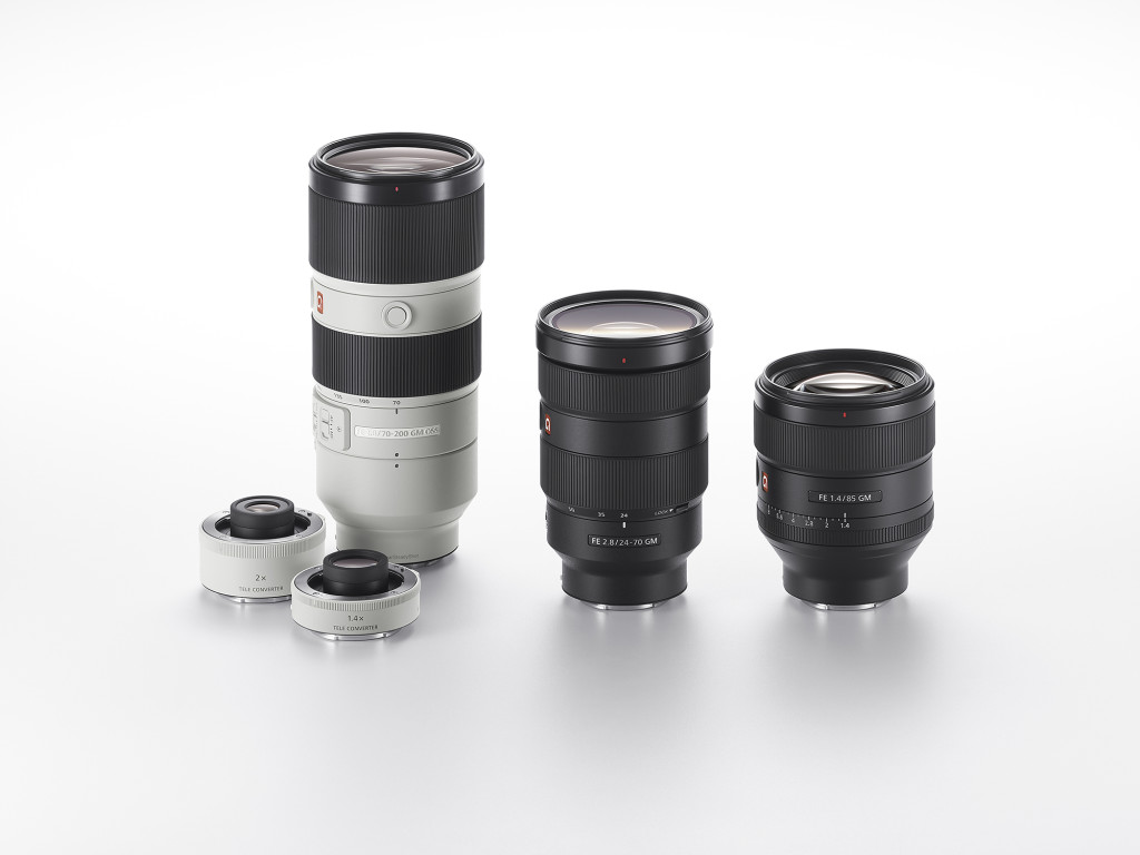 Sony G-Master Lenses and Teleconverters
