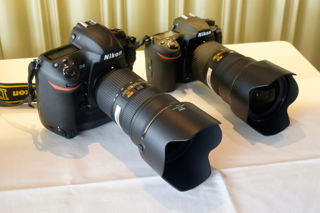 Nikon D5 and D500 with AF-S 24-70mm f/2.8G