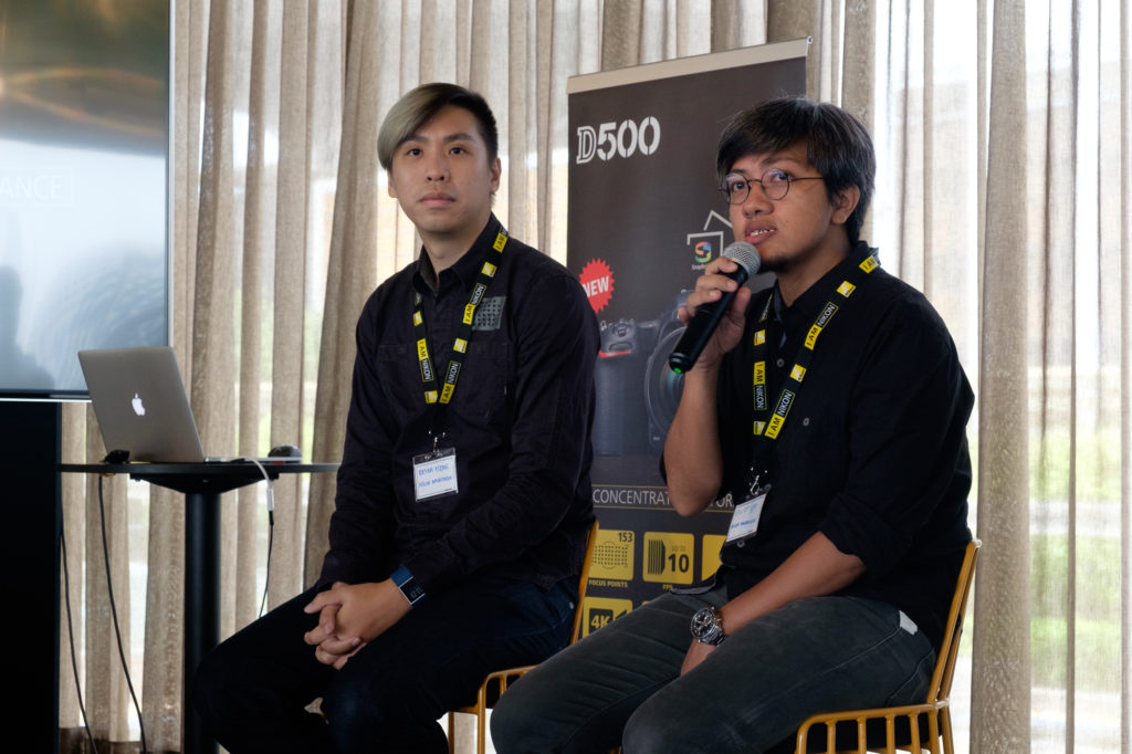 Nikon Ambassadors Bryan Fong and Elliot Lee