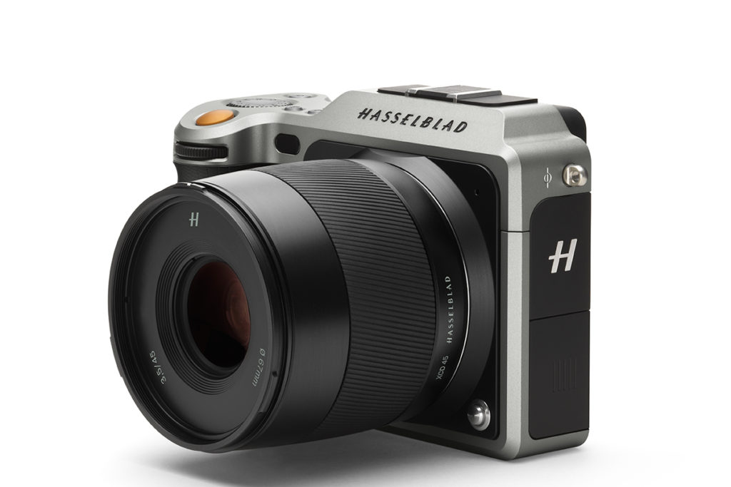 Hasselblad X1D with 45mm f/3.5