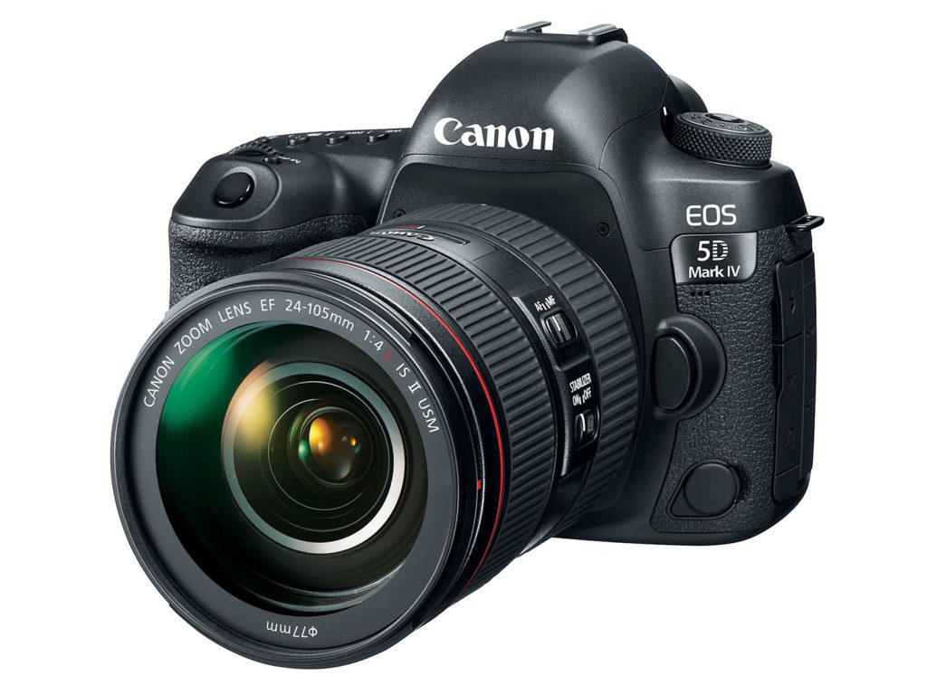 Canon EOS 5D Mark IV with EF 24-105mm f/4 L IS II USM