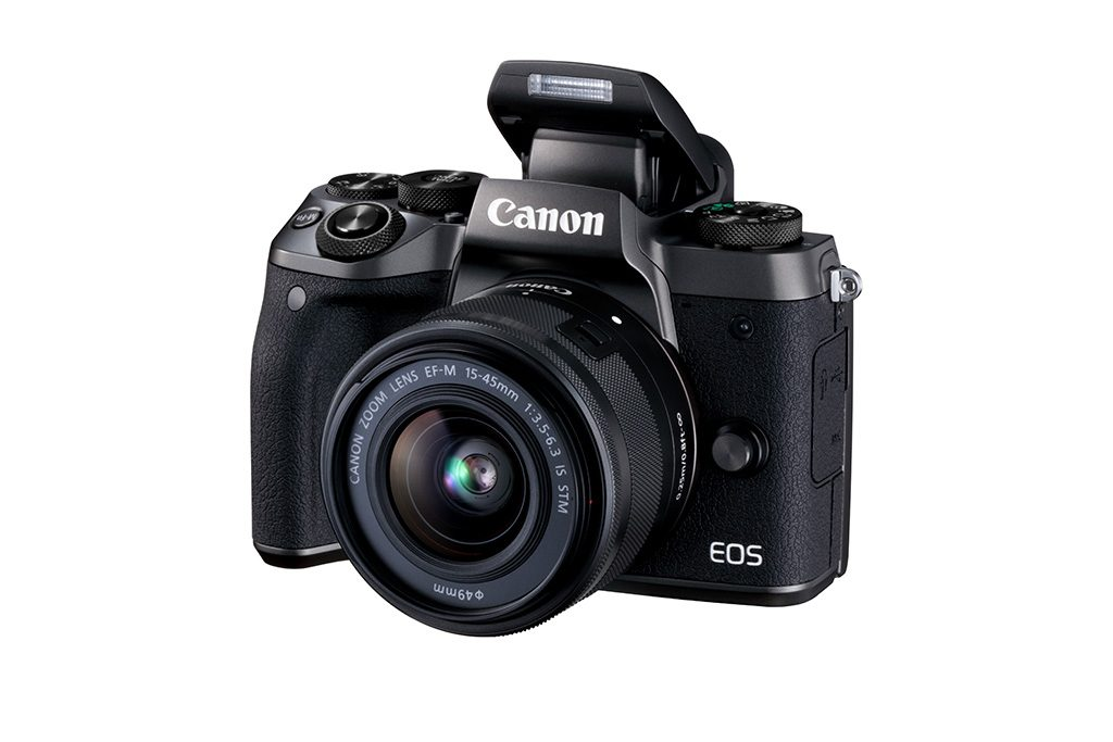 Canon EOS M5 with EF-M 15-45mm IS STM