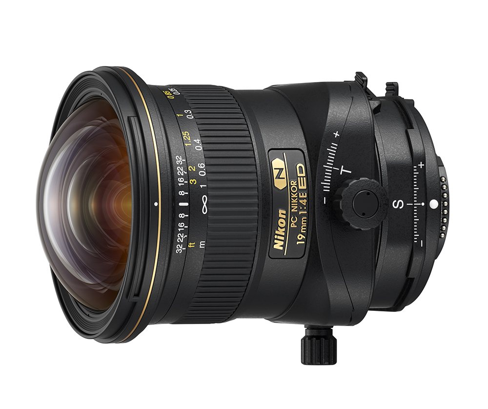 PC Nikkor 19mm f/4E